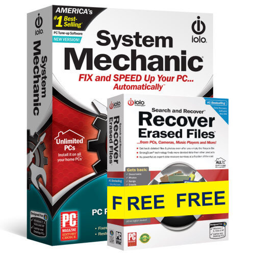 System Mechanic + Search Recover Bundle