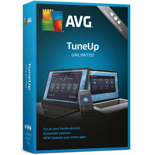 AVG TuneUp Unlimited Devices 2019